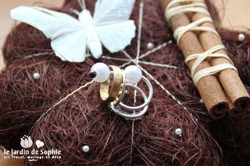 coussins d alliances originaux pour votre mariage blog mariage petit mariage entre amis. Black Bedroom Furniture Sets. Home Design Ideas
