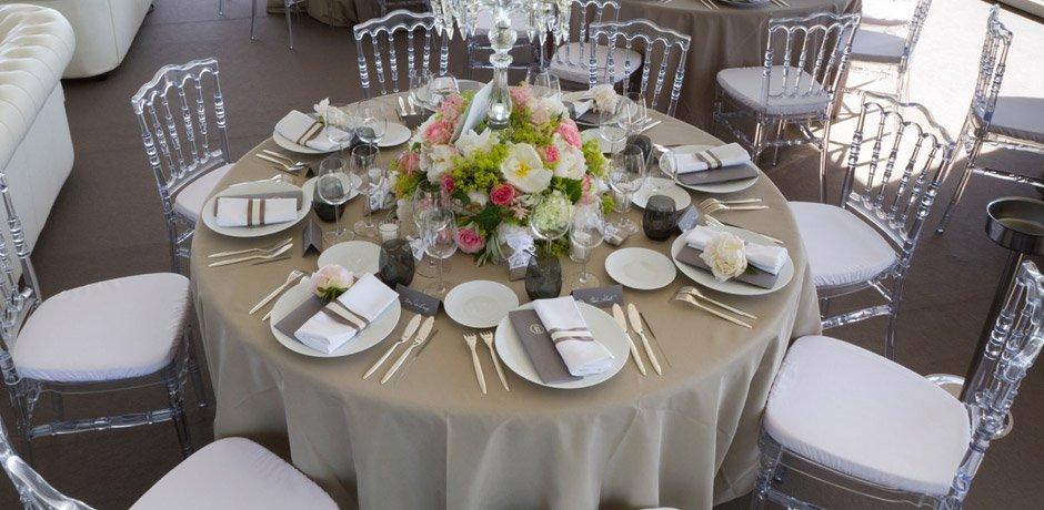 La location du mat riel blog mariage petit mariage for Idee repas reception amis