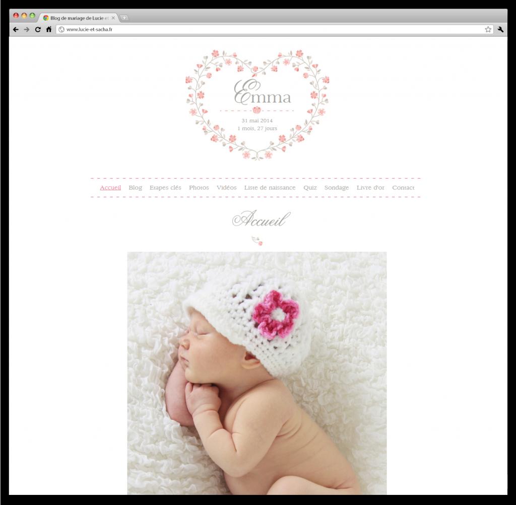 naissance d un petit nouveau blog mariage petit mariage entre amis. Black Bedroom Furniture Sets. Home Design Ideas