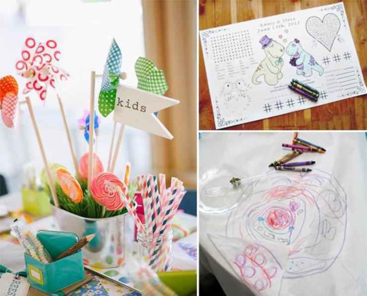 occuper les enfants le jour du mariage blog mariage petit mariage entre amis. Black Bedroom Furniture Sets. Home Design Ideas