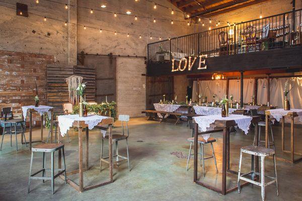 Des id es pour un mariage industriel blog mariage for Idee repas reception amis
