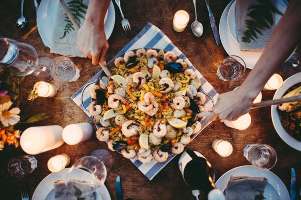10 id es de menus de mariage qui changent blog mariage for Idee menu soiree entre amis