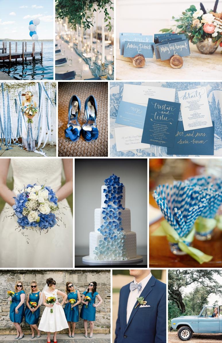Mariage en bleu blog mariage petit mariage entre amis for Bleu petrole decoration