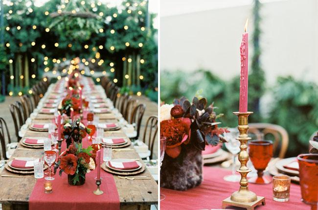 id es de d coration pour table rectangulaire blog mariage petit mariage entre amis. Black Bedroom Furniture Sets. Home Design Ideas