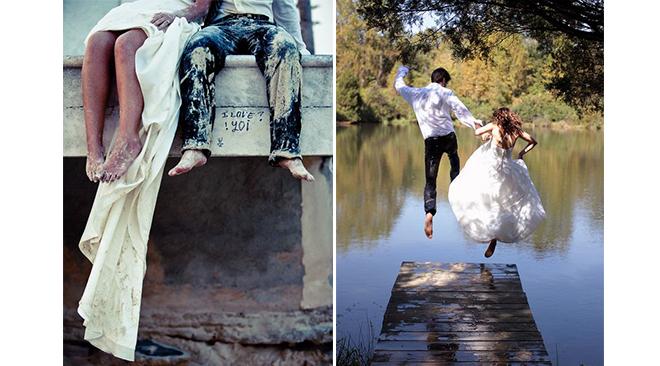 trash the dress id es de photos de mariage originales et d cal es. Black Bedroom Furniture Sets. Home Design Ideas