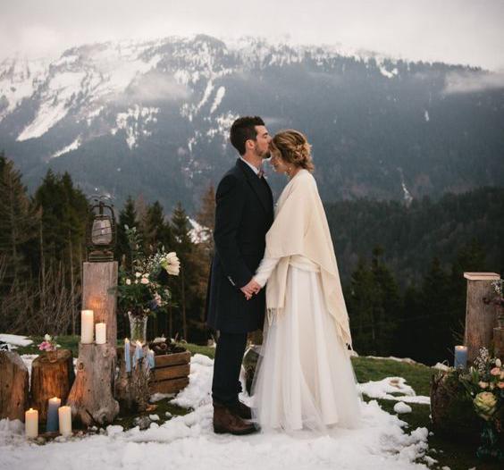 8 bonnes raisons de se marier la montagne. Black Bedroom Furniture Sets. Home Design Ideas