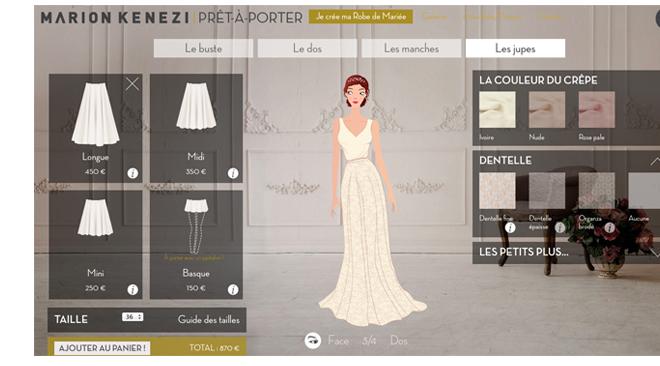 Créez vous-même votre robe de mariée