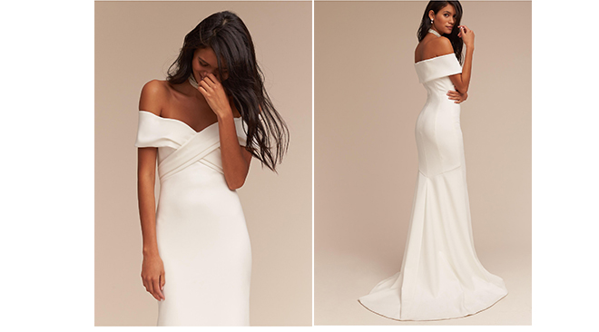 La tendance des robes de mariées à épaules
