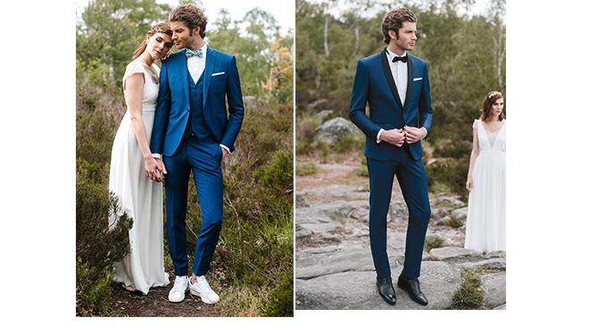 costume-couleur-bleue-mariage. Samson 3b35e7d85e12