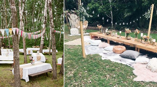 wedding pique nique. Black Bedroom Furniture Sets. Home Design Ideas