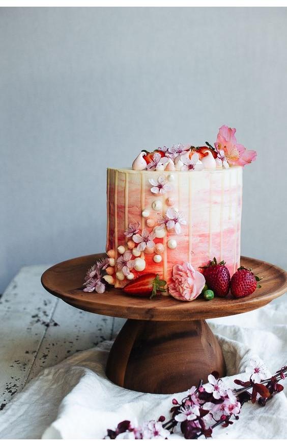 Gateau fraise