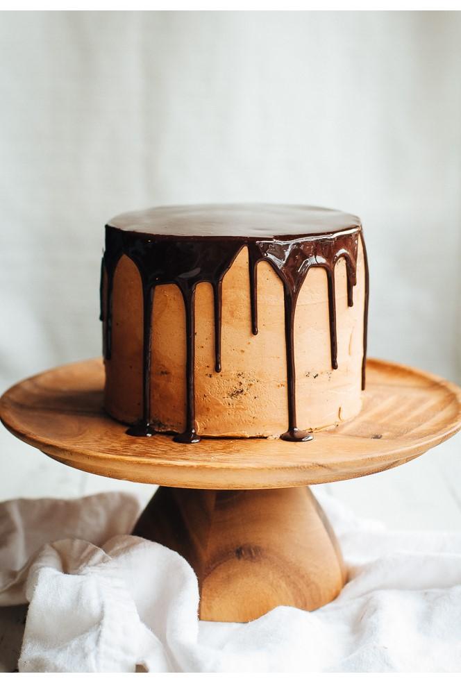 gateau minimalist chocolat