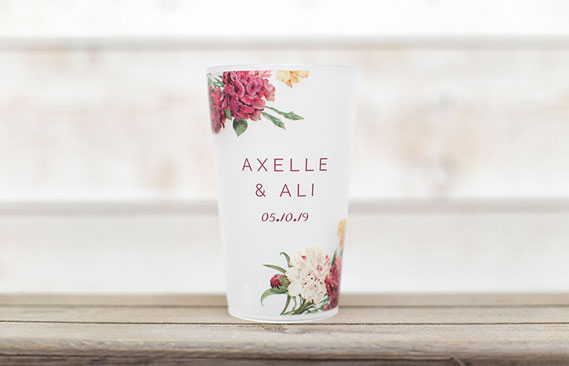 gobelets mariage Automne