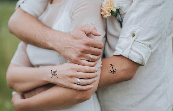tattoos mariage Love