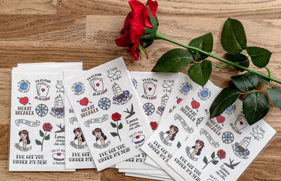 tattoos mariage Love 2
