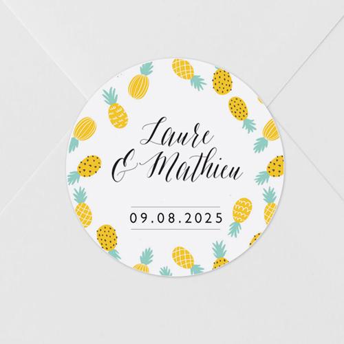 gobelet de mariage Ananas à personnaliser