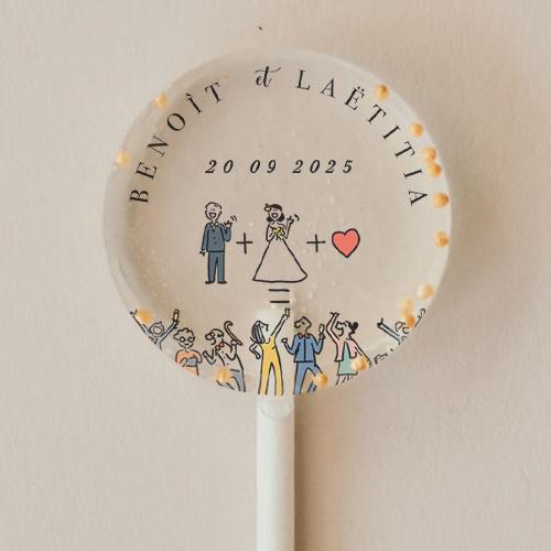gobelet de mariage Addition à personnaliser