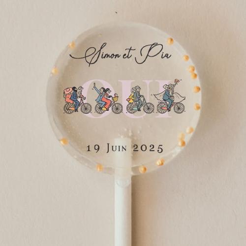 gobelet de mariage Vélos à personnaliser