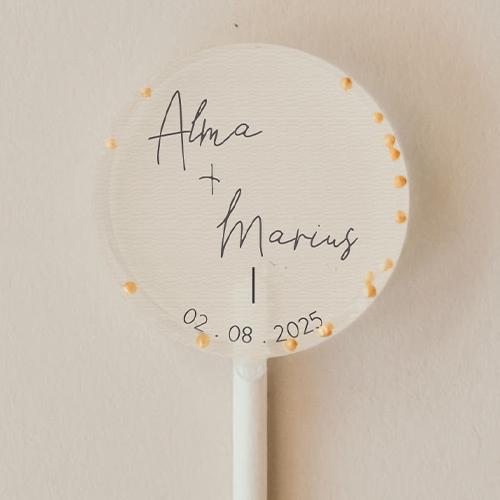 gobelet de mariage Warp à personnaliser