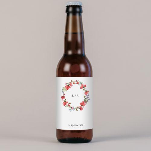 Bière de mariage alexandria à personnaliser