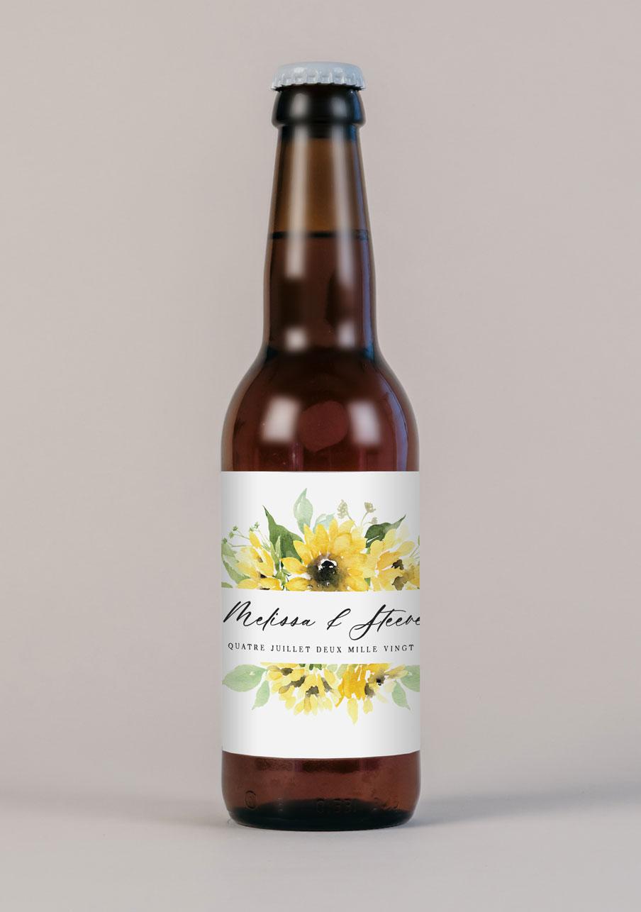 biere mariage personnalisé Ama