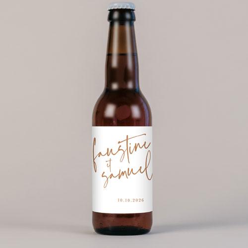 Bière de mariage annecy à personnaliser
