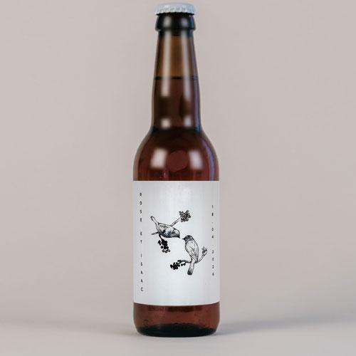Bière de mariage birds à personnaliser