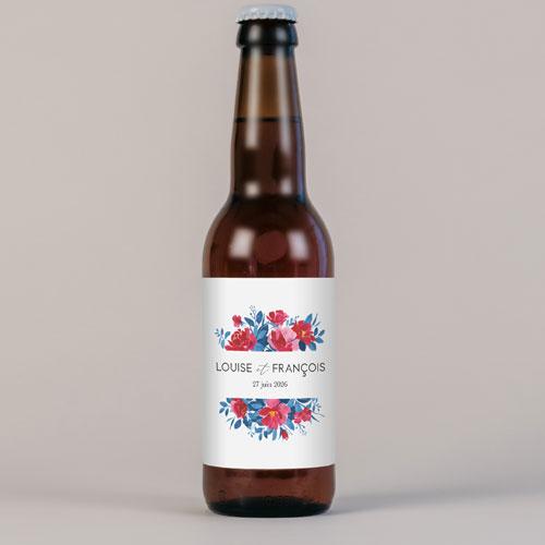 Bière de mariage charlotte à personnaliser