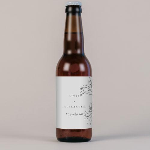 Bière de mariage dallma à personnaliser