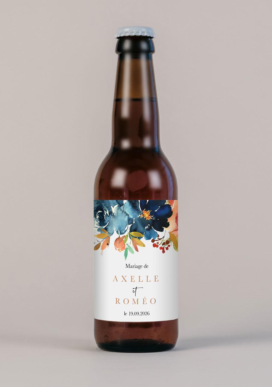 biere mariage personnalisé Nova