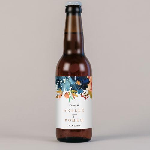 Bière de mariage nova à personnaliser