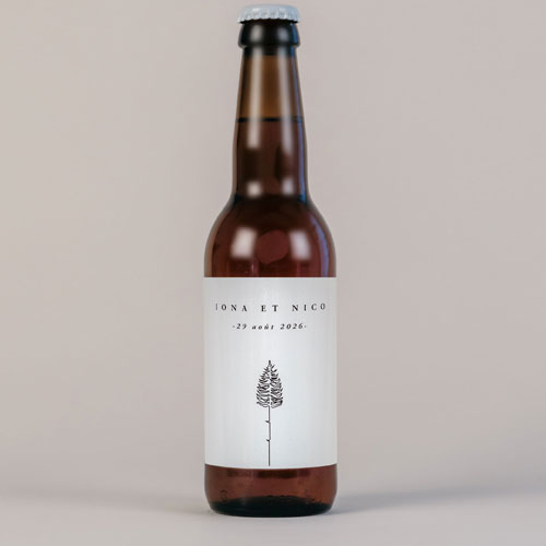 Bière de mariage tall-tree à personnaliser
