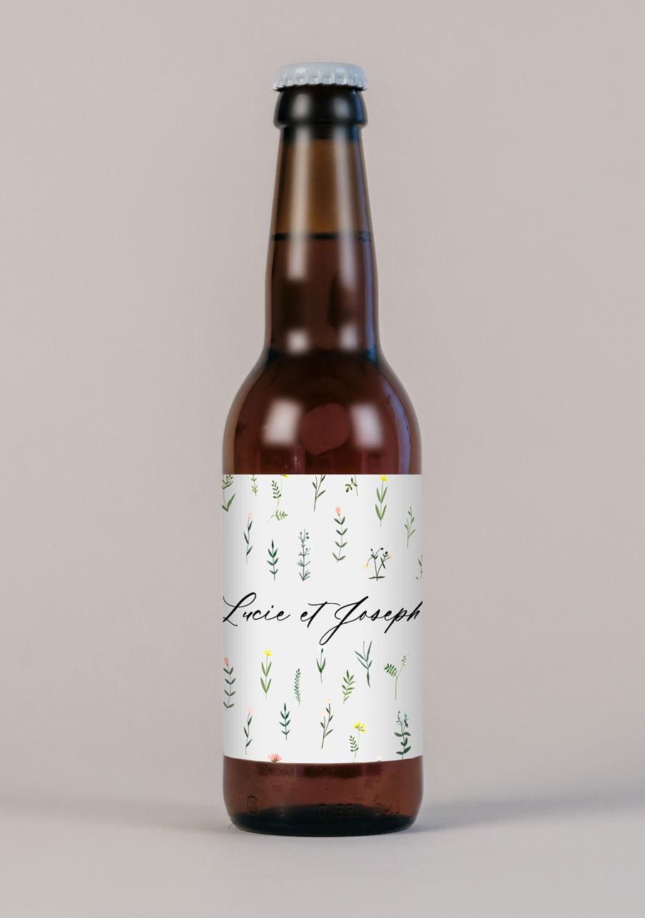 biere mariage personnalisé Tanaisie