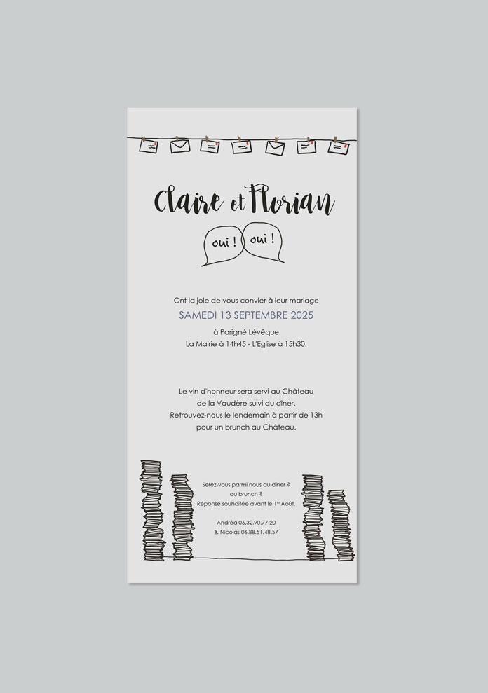 faire-part mariage Invitations