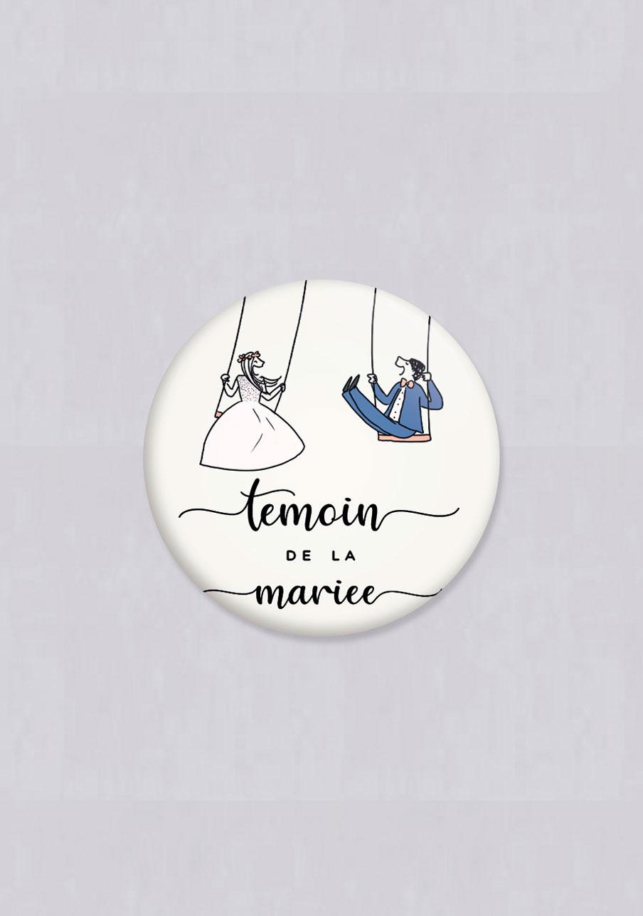 magnet mariage Balançoires
