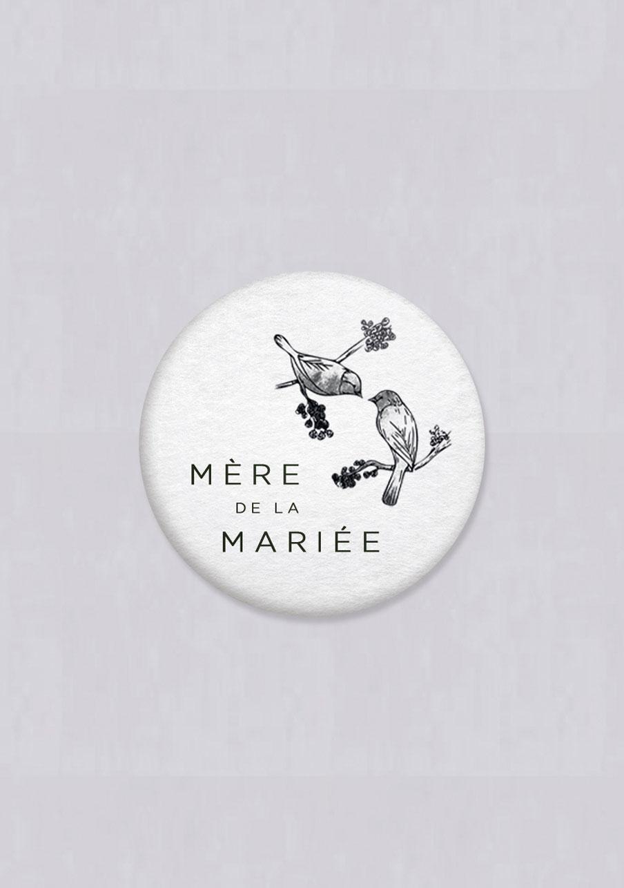 magnet mariage Birds