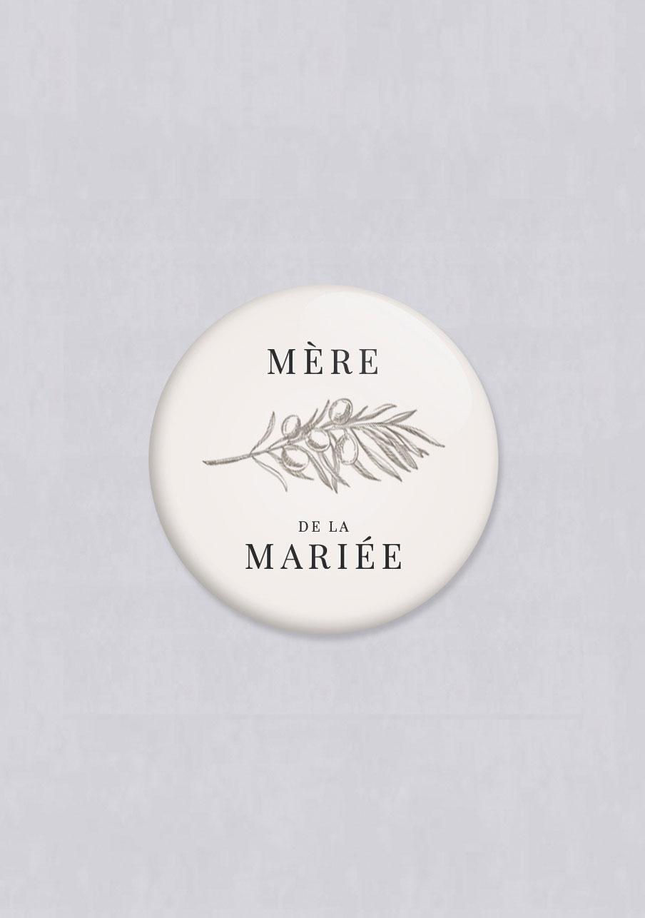 magnet mariage personnalisé Olivier