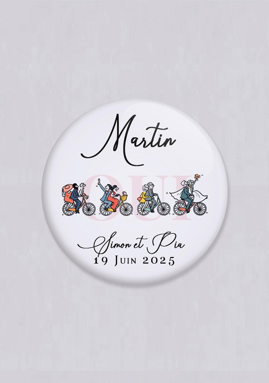 miroir mariage Vélos