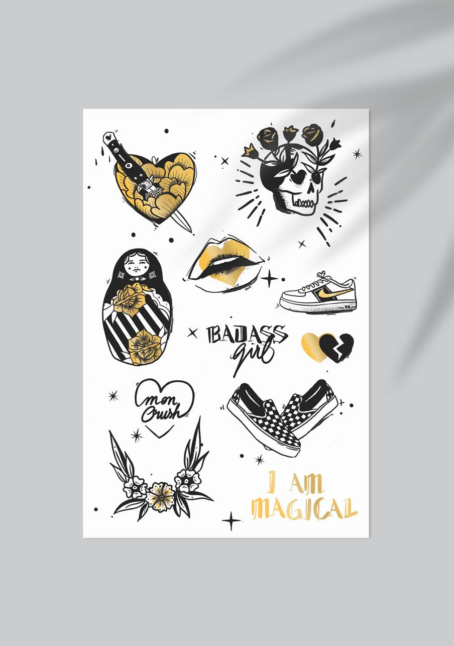 tattoo mariage personnalisé Magical