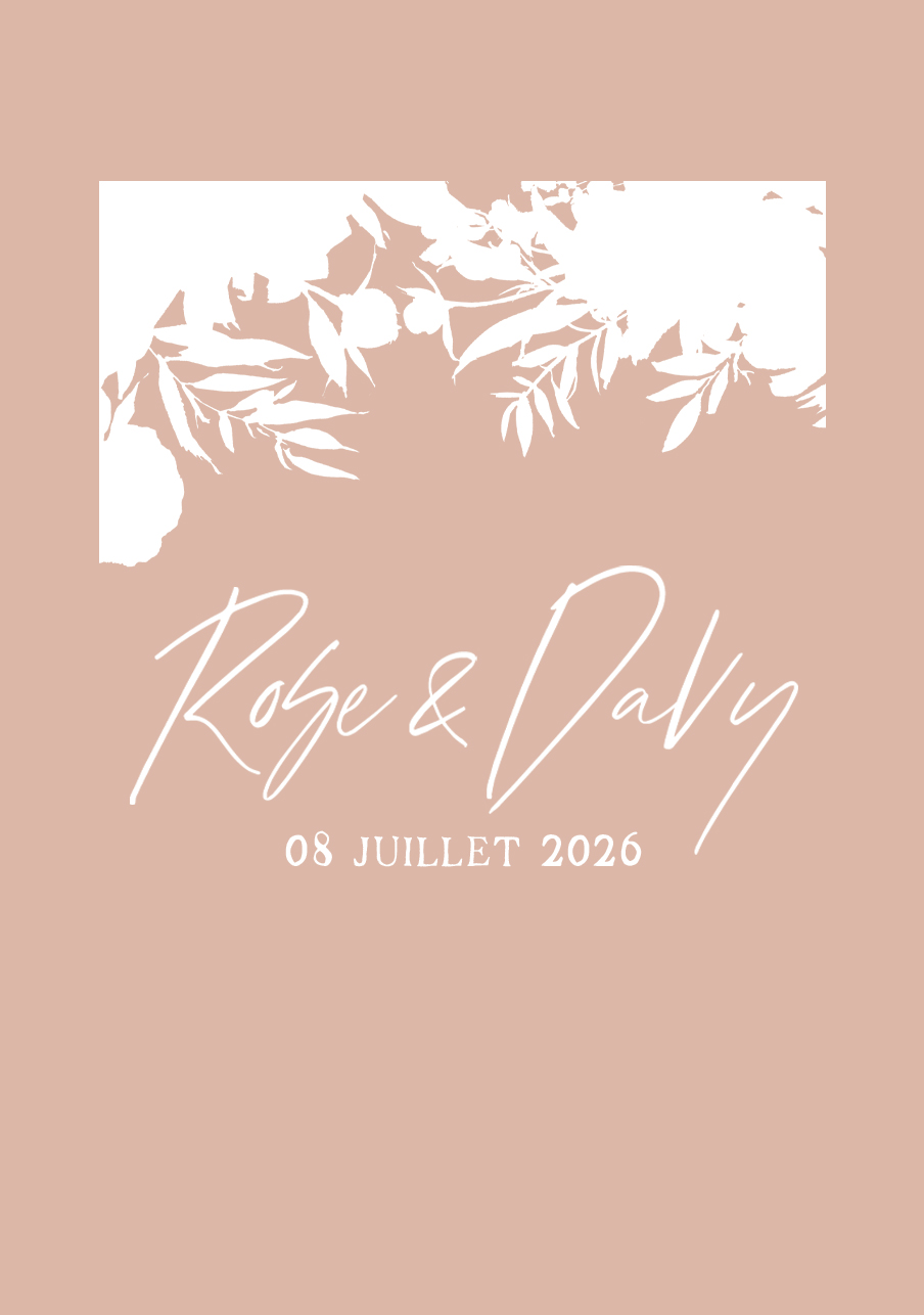 vin-rose mariage Belladone