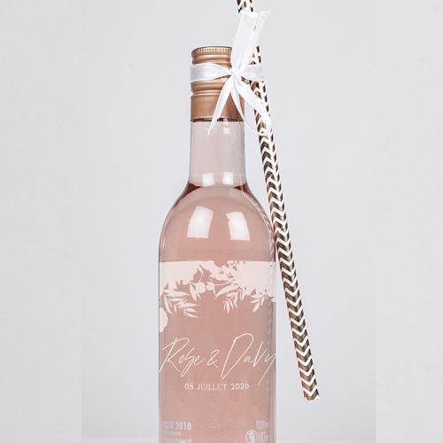 Rosé de mariage belladone à personnaliser