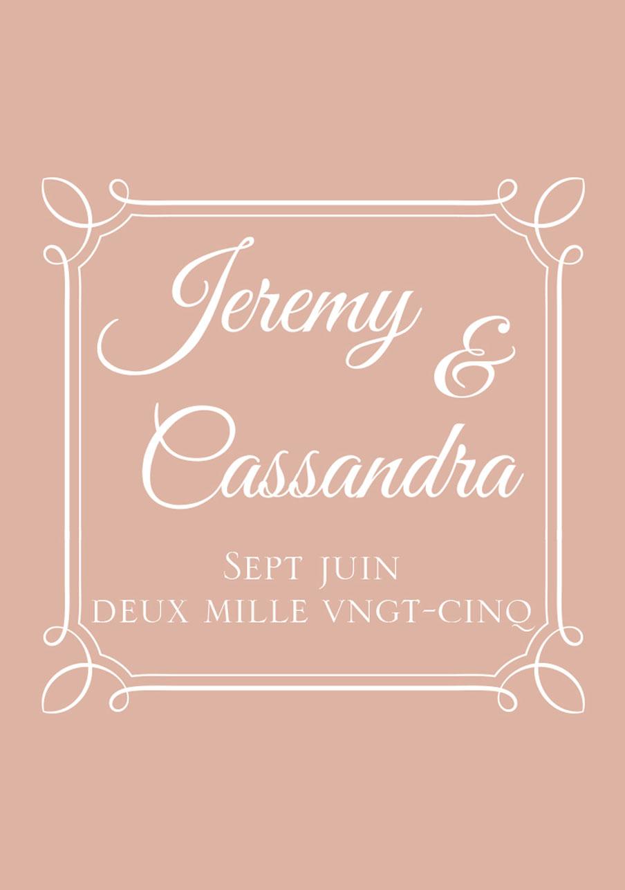 vin-rose mariage cadre