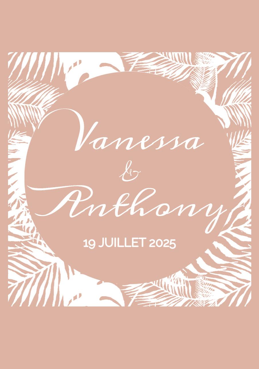 vin-rose mariage Jungle