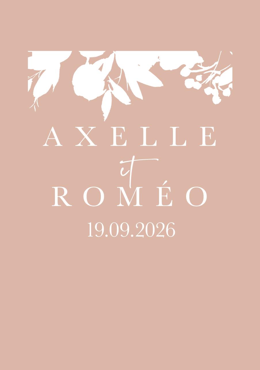 vin-rose mariage Nova