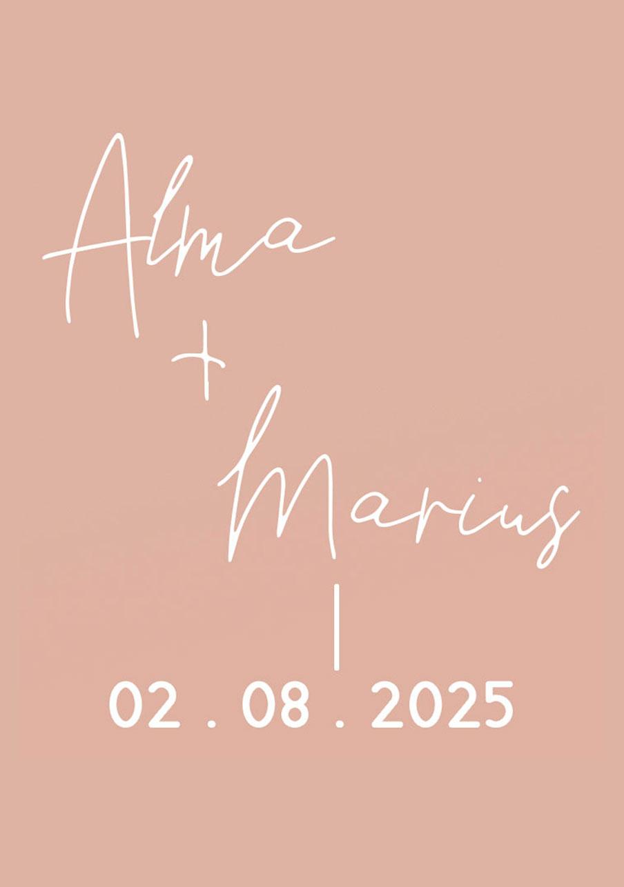 vin-rose mariage Warp