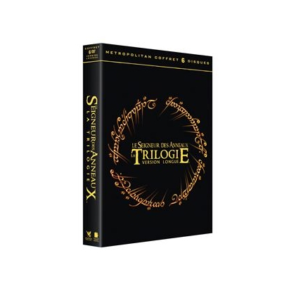 Coffret DVD seigneur des anneaux version longue