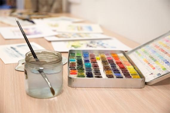 Participation cours de peinture