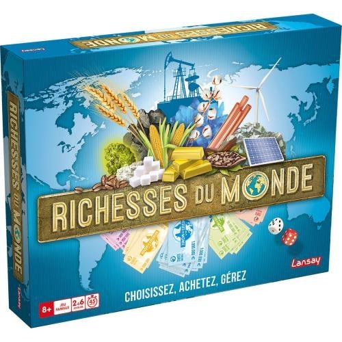 Richesses du monde - jeux de société