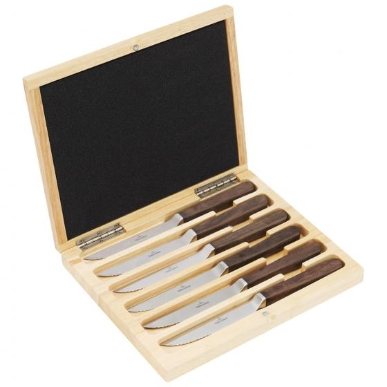 Set de 6 couteaux à steak