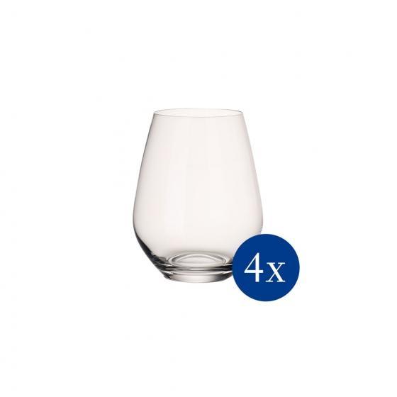 verres à eau x 4